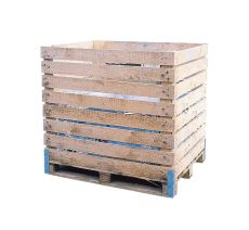 Net container wooden
