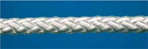 Crossbraided polyester with and without core