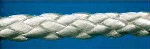 Loosebraided polyester without core