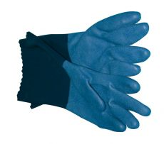 Showa - blue glove with cotton linning 720