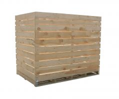 Big wooden container